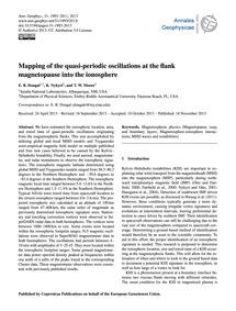 Mapping of the Quasi-periodic Oscillatio... by Dougal, E. R.