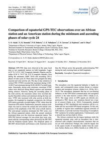 Comparison of Equatorial Gps-tec Observa... by Akala, A. O.