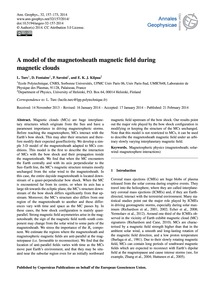 A Model of the Magnetosheath Magnetic Fi... by Turc, L.