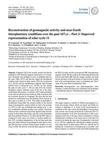Reconstruction of Geomagnetic Activity a... by Lockwood, M.