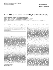 A New Bist Scheme for Low-power and High... by Li, H.