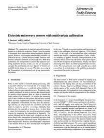 Dielectric Microwave Sensors with Multiv... by Daschner, F.