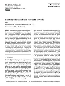 Real-time Delay Statistics in Wireless I... by Huo, D.