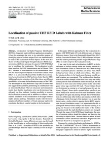 Localization of Passive Uhf Rfid Labels ... by Nick, T.
