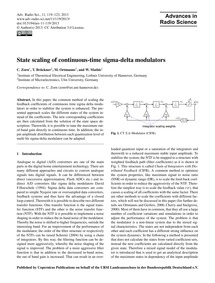 State Scaling of Continuous-time Sigma-d... by Zorn, C.