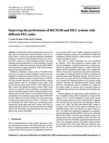 Improving the Performance of Bicm-id and... by Arafa, T.