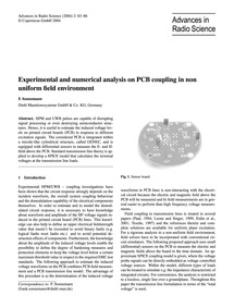 Experimental and Numerical Analysis on P... by Sonnemann, F.