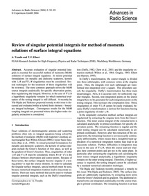 Review of Singular Potential Integrals f... by Tzoulis, A.