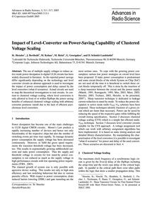 Impact of Level-converter on Power-savin... by Henzler, St.