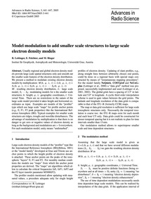 Model Modulation to Add Smaller Scale St... by Leitinger, R.