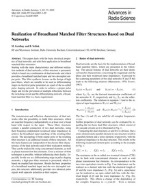 Realization of Broadband Matched Filter ... by Gerding, M.