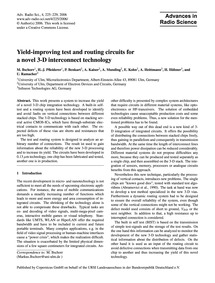 Yield-improving Test and Routing Circuit... by Bschorr, M.