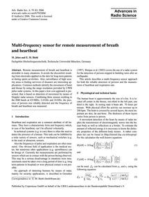 Multi-frequency Sensor for Remote Measur... by Jelen, M.