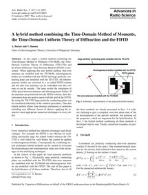 A Hybrid Method Combining the Time-domai... by Becker, A.