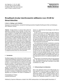 Broadband Circular Interferometric Milli... by Bertl, S.