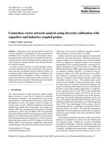 Contactless Vector Network Analysis Usin... by Zelder, T.