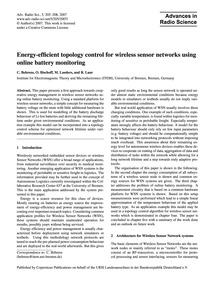 Energy-efficient Topology Control for Wi... by Behrens, C.