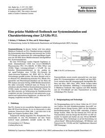 Eine Präzise Multilevel-testbench Zur Sy... by Kebaisy, I.
