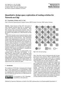 Quantitative Design Space Exploration of... by Neuenhahn, M. C.