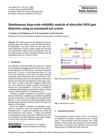 Simultaneous Large-scale Reliability Ana... by Domdey, A.