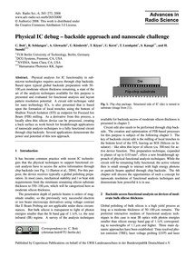Physical Ic Debug – Backside Approach an... by Boit, C.
