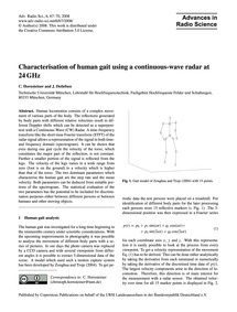 Characterisation of Human Gait Using a C... by Hornsteiner, C.