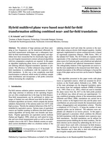 Hybrid Multilevel Plane Wave Based Near-... by Schmidt, C. H.