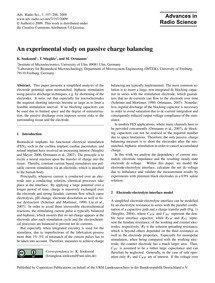 An Experimental Study on Passive Charge ... by Sooksood, K.