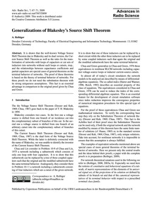 Generalizations of Blakesley's Source Sh... by Reibiger, A.