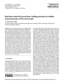Real Time Control of Curved Laser Weldin... by Nicolosi, L.