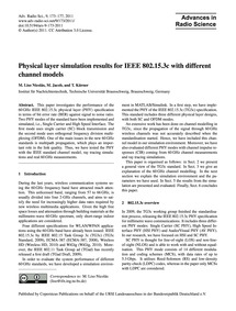 Physical Layer Simulation Results for Ie... by Liso Nicolás, M.