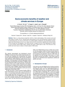 Socio-economic Benefits of Weather and C... by Perrels, A.