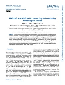 Matisse: an Arcgis Tool for Monitoring a... by Rillo, V.