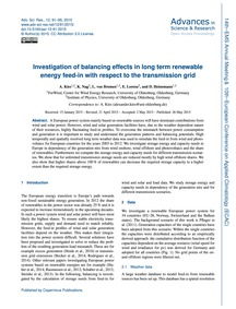 Investigation of Balancing Effects in Lo... by Kies, A.