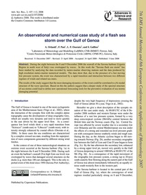 An Observational and Numerical Case Stud... by Orlandi, A.