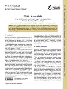 Vince – a Case Study : Volume 2, Issue 1... by Carvalho, A.