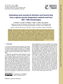 Estimating Local Records for Northern an... by Brunetti, M.