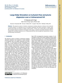 Large-eddy Simulation on Turbulent Flow ... by Nakayama, H.