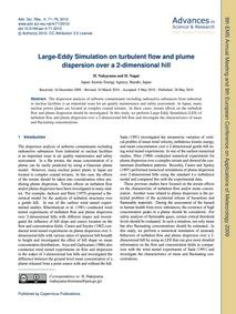 Large-eddy Simulation on Turbulent Flow ... by Nakayama, H.