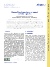 Effects of the Climate Change on Regiona... by Kolozsi-komjáthy, E.