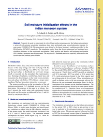 Soil Moisture Initialization Effects in ... by Asharaf, S.