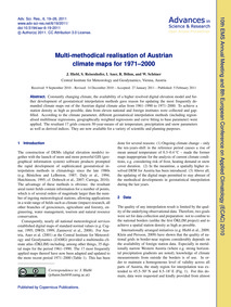 Multi-methodical Realisation of Austrian... by Hiebl, J.