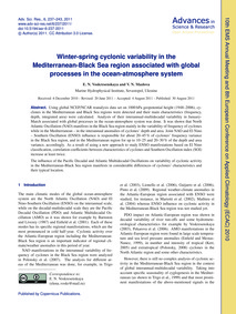 Winter-spring Cyclonic Variability in th... by Voskresenskaya, E. N.