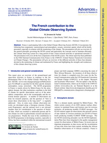 The French Contribution to the Global Cl... by Juvanon Du Vachat, R.