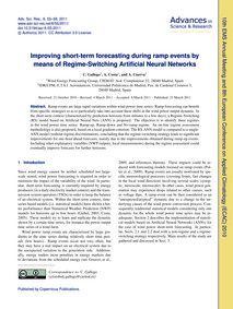 Improving Short-term Forecasting During ... by Gallego, C.