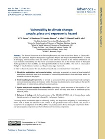 Vulnerability to Climate Change: People,... by Hutton, C. W.