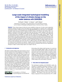 Large Scale Integrated Hydrological Mode... by Prasch, M.