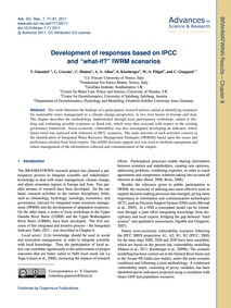 Development of Responses Based on Ipcc a... by Giannini, V.