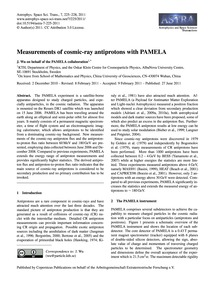 Measurements of Cosmic-ray Antiprotons w... by J. Wu on Behalf of the Pamela Collaboration