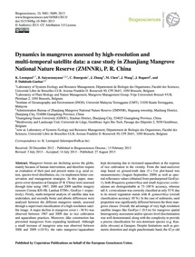 Dynamics in Mangroves Assessed by High-r... by Leempoel, K.